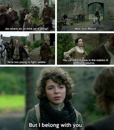 """""""I belong with you"""" - Fergus, Jamie, Claire, Murtagh, Ian and Jenny Outlander Quotes, Outlander Season 2, Outlander 3, Outlander Casting, Claire Fraser, Jamie Fraser, Diana Gabaldon Outlander Series, Outlander Book Series, Dragonfly In Amber"""