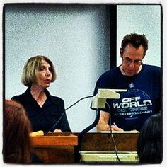 Kickstarter seminar with Mark Zicree and wife.
