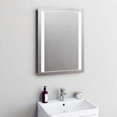Rishi diffused LED mirror Mirror Glass, Led Mirror, Bathroom Hacks, Bathroom Sets, Bath Or Shower, Wall Fixtures, Diffused Light, Amazing Bathrooms, Bathroom Accessories