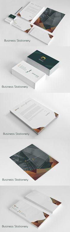 Branding Stationery . Stationery Templates. $12.00