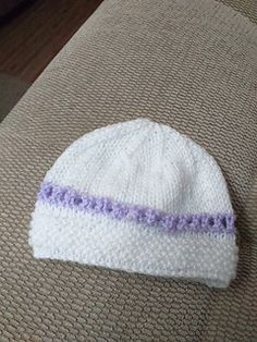 Ravelry: Julietta Baby Hat pattern by marianna mel Baby Hat Patterns, Knitting Patterns, Baby Hats, Ravelry, Beanie, Simple, Sweet, Candy, Knitting Paterns