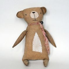 Primitive Bear made by Flossie Limejuice
