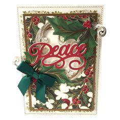 Anna Griffin Festive Words Cutting Dies Pop Up Christmas Cards, Christmas Card Images, Christmas Pops, Xmas Cards, Holiday Cards, Christmas 2015, Christmas Ideas, Anna Griffin Inc, Anna Griffin Cards