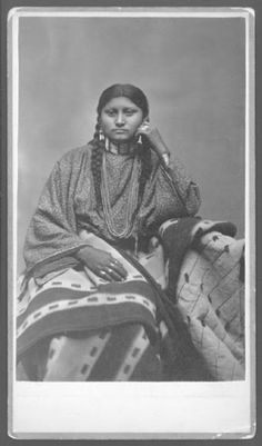 Daughter of Dull Knife - Northern Cheyenne - no date