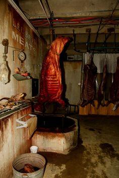 butcher shop idea