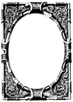 Free Vintage Image – Ornate Frame | Oh So Nifty Vintage Graphics