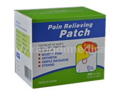 Pain reliever patch is breathable, adhesive, flexible, anti-allergy,  anti-penetration, look beautiful, lasting for long period.
