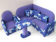 muebles de la muñeca de 12 pulgadas esquina por EvgeniyAndAlla