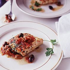Red Snapper with Tomato Sauce, Olives, and Onions Recipe - Saveur.com