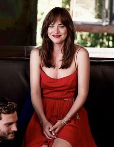 Love this! Her smile... and what is Jamie looking at?