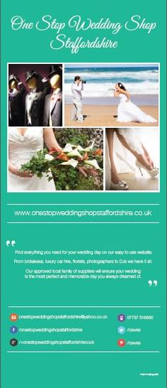 Foamy Media - experts in Search Engine Optimisation and can help your website higher up the Google rankings, as well as managing your businesses social media channels. www.onestopweddingshopstaffordshire.co.uk