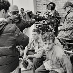 On the set of Jamsey Boy. Spencer Lofranco. The Cut, Jessup. Maryland film photographer.