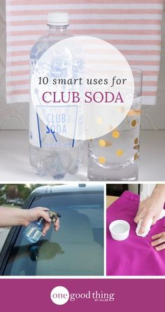 10 Ways That Club Soda Is The Ultimate Folk Remedy - One Good Thing by Jillee