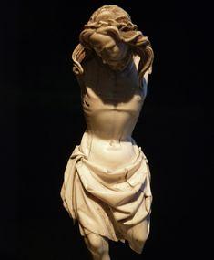 Giovanni Pisano - The Crucified Christ - Ivory - Tuscany, Italy - circa 1300 White Jesus, Tuscany Italy, Corpus Christi, Pisa, Gothic, Ivory, Statue, Age, Goth