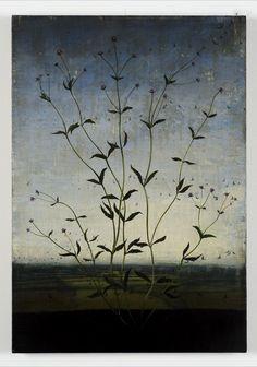 Michael Canning - Tacit, 2011 - Oil on canvas on wood panel