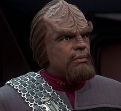 Worf. Star Trek The Next Generation