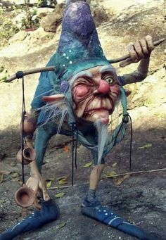 Fantasy | Whimsical | Strange | Mythical | Creative | Creatures | Dolls | Sculptures | ☥ | Bellissimo di Rocio