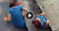 [Trending Now] This Girl Decided To Go Down The Sewer Then Did This! Faith In Humanity Restored!