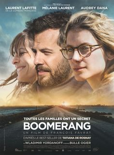 Boomerang est un film de François Favrat avec Laurent Lafitte, Mélanie Laurent. Synopsis : Boomerang : nom masculin, arme de jet capable en tournant sur elle-même de revenir à son point de départ… En revenant avec sa sœur Agathe sur l'île de