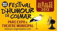 Festival d'humour 2013 à Colmar. Du 8 au 12 octobre 2013 à Colmar.