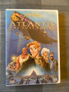 Atlantis The Lost Empire (DVD, 2002, Michael J. Fox, James Garner, Leonard Nimoy