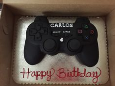 Play station controller cake