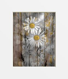 Wine Red Wooden Oxeye Daisy Decoration Blanks Sizes Selection