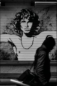 Street Art - Jim Morrison