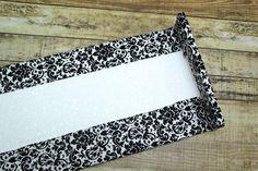 Make Window Cornice Boards From Foam Core Easy Peasy