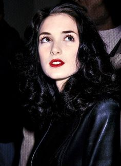 Can we please appreciate the existence that is this beautiful, talented and kind hearted creation. I love Winona Ryder too much to express. #winonaryder