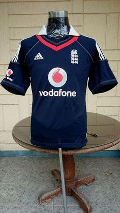 ENGLAND 2010 One Day International (ODI) CRICKET SHIRT   ... visit... www.vintagesoccerjersey.com One Day International, Football Jerseys, Jersey Shirt, Cricket, England, Classic, Shirts, Football Shirts, Derby