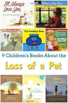 9 Children's Books About Pets Dying - Losing a pet is hard. These books about pets dying will help your child understand and process the grief and sadness they feel. Wordless Picture Books, Children's Picture Books, Feminist Books, Kids Learning, Learning Skills, Literacy Skills, Life Skills, Life Lessons, Book Themes