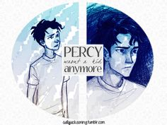 """Percy wasn't a kid anymore. He didn't want anybody he loved taking a risk for him. He had to be strong enough to be the protector himself."""