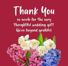 Wedding Thank You Messages and Wording - WishesMsg Wedding Thank You Messages, Wedding Thank You Cards Wording, Wedding Notes, Wedding Wishes, Our Wedding Day, Thank You Notes, Thank You So Much, Thanks For Wishes, Thoughtful Wedding Gifts