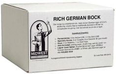 Homebrewing Kit: Rich German Bock w/ White Labs German Lager 830 by Midwest Homebrewing and Winemaking Supplies. $43.99. Our recipe is a traditional rich, malty brown German lager of 6.5+% alcohol by volume that is traditionally brewed in Winter for consumption in spring. Our ingredients for this recipe include: 6 lb. Amber liquid malt extract, 3.3 lb. Gold liquid malt extract, 8 oz. Carapils, 8 oz. Caramel 40L specialty grains, 2 oz. Hallertau, 1 oz. Saaz pel...
