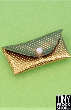 Barbie Vintage Silver and Gold Dimple Clutches