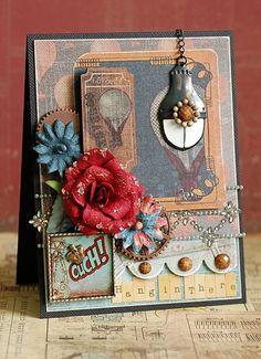 Craftsman card by Lea Lawson for Prima