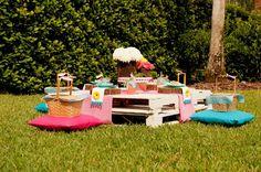 Teddy Bear Picnic 3rd Birthday Party via Kara's Party Ideas | Kara'sPartyIdeas.com #teddy #bear #picnic #3rd #birthday #party #supplies #ideas (22)