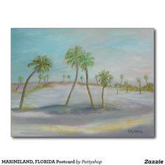 MARINELAND, FLORIDA Postcard