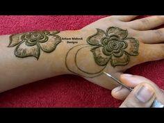 Easy Simple Mehndi Design || Stylish Beautiful Mehndi Design for Back Hand || Arham Mehndi Designs - YouTube