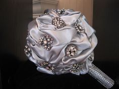 Custom Brooch Bouquets designed by Kelly Howland Bowers