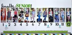 Finally...Senior! School layout, from first 1st to 12th grade.