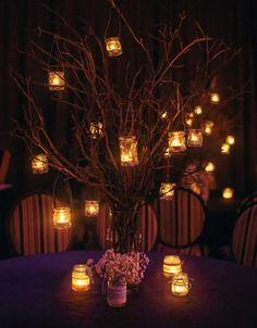 luces noche ideas boda