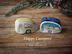 Teardrop Trailer Camp Caravan GOOD MORNING Travel by HappyVillage