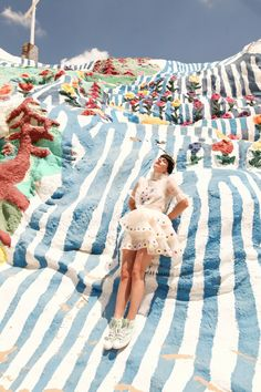The Cherry Blossom Girl - Salvation Mountain 02
