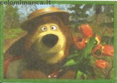 Masha and the bear - Masha e Orso: Fronte Figurina n. 89 -