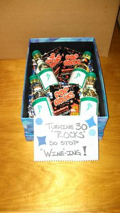 Fun 30th birthday gift idea