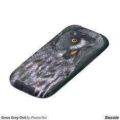 #Great #Grey #Owl #Samsung #Galaxy S3 #Cases