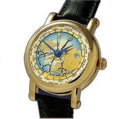 Christiaan Van Der Klaauw часы Astronomical Collection Mondial CK1