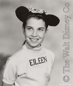 Eileen Sharon Diamond was born in Los Angeles. Surprisingly little is available on her background. Disney press releases simply mention her skills in dancing ballet and modern, and add that she took lessons at the studio owned by Doreen Tracey's father. She also had taken lessons in piano. In later years she confided that she first appeared on television as a model for children's clothes, then danced with a ballet company in Hollywood and on television with Eleanor Powell.